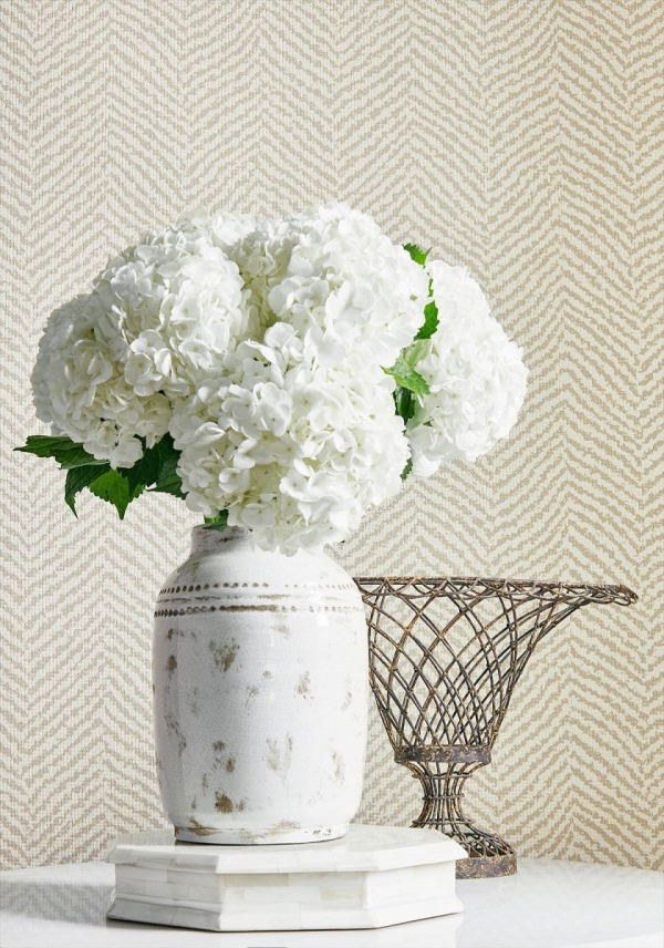 T72861 Thibaut Big Sur Cream Wallpaper